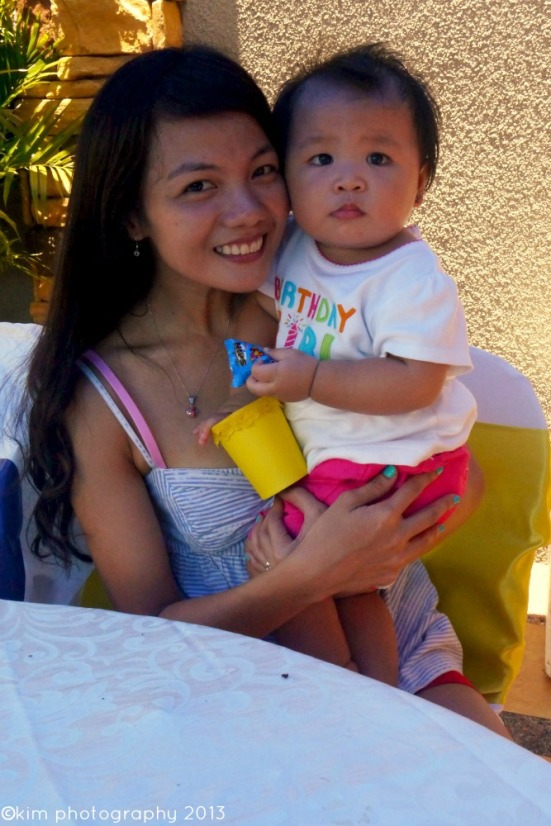 ninang almi & baby alex