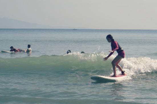 surfer girl moi