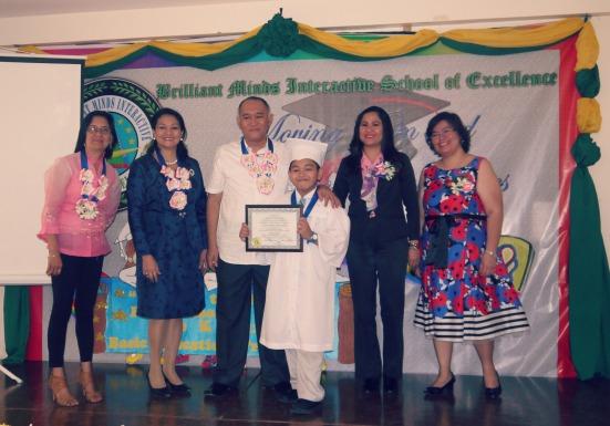 rajah receives diploma