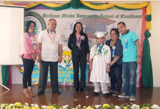 rajah receives medals and awards
